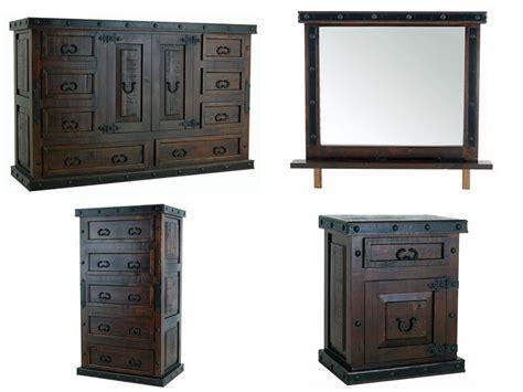 Hacienda Bedroom Furniture Dallas Designer Furniture Gran Hacienda Rustic Bedroom Set