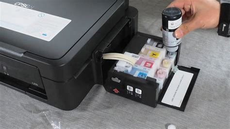 epson l210 02 refill a printer s ink cartridge on vimeo