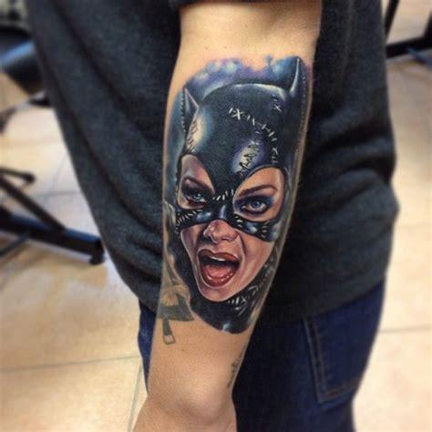 batgirl tattoo by kris busching island ny