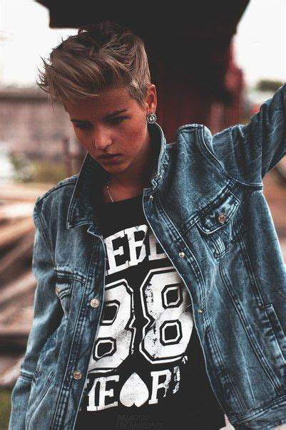 hair styles for butchy women 129 best images about hair androgynous lesbian dyke