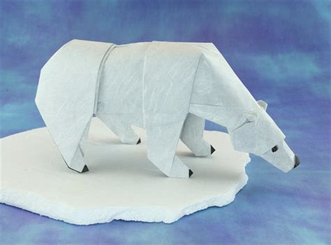 How To Make A Polar Out Of Paper - origami animals