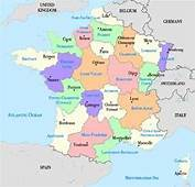 France Region And City Map