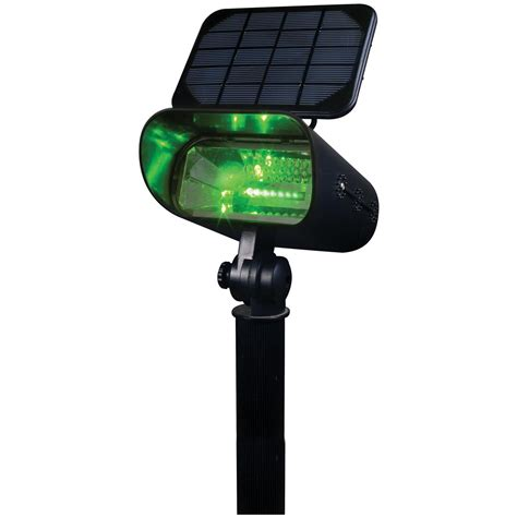 Smart Solar Green 8 Led Spotlight 167519 Solar Smart Solar Lights