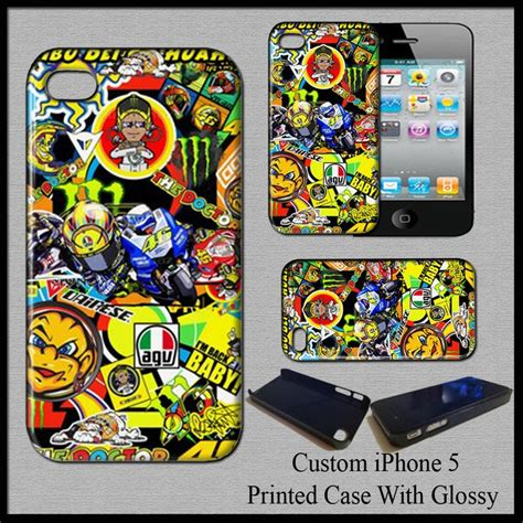 3d Valentino Motogp Iphone Casing Iphone 4 Iphone 5 20 best images about cover for iphone 5 on marc marquez retro vintage and