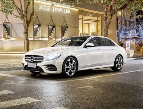 Official 2017 Mercedes Benz E Class Long Wheelbase Gtspirit