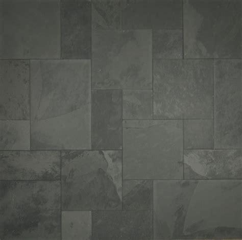 Pewter Grey Slate   Versailles Pattern   Gauged