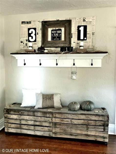 ideas for furniture rustic pallet bench entryway decorating ideas foyer