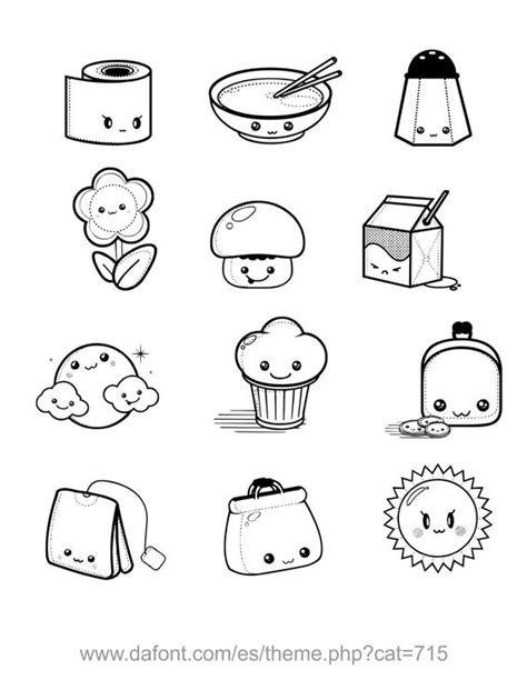 imagenes de caritas kawaii en comida dibujos kawaii para colorear buscar con google dibujo