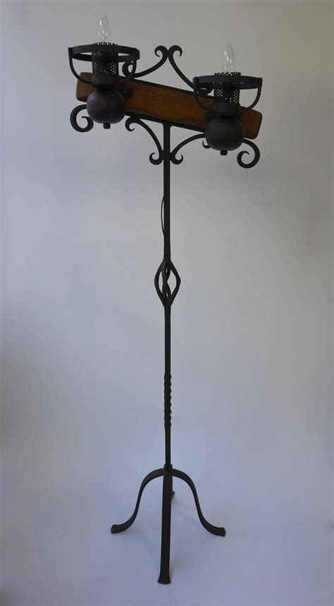 Wrought Iron Floor Ls Wrought Iron Floor Ls An Adjustable Height Wrought Iron Floor L At 1stdibs Pair Of Wrought