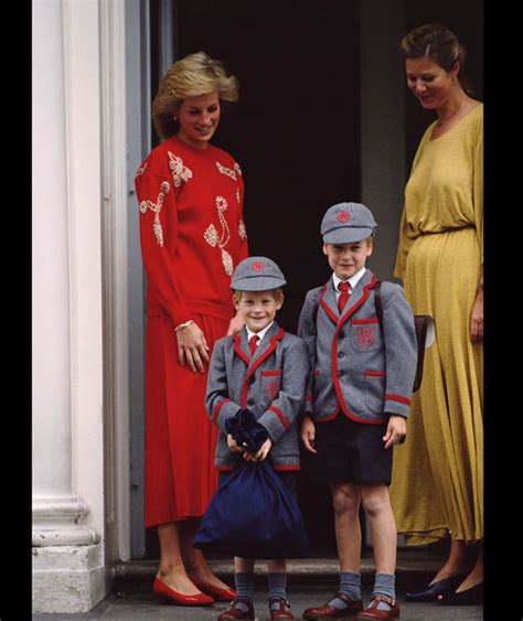 princess diana sons princess diana with sons prince harry left and