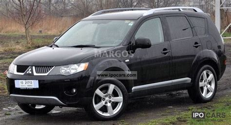 old car manuals online 2008 mitsubishi outlander seat position control 2008 mitsubishi outlander car photo and specs
