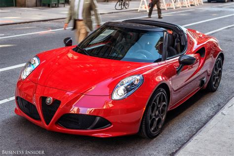 alfa romeo spider alfa romeo 4c spider review business insider