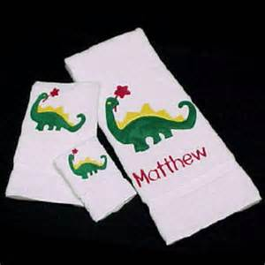 personalized custom bath towels for boy s towel sets