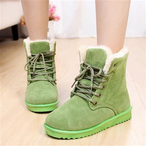 aliexpress boots 2013free shipping faux suede lace up fur lined platform