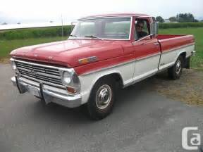 1968 Ford Truck 1968 Ford For Sale In Chilliwack