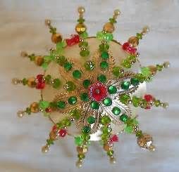 Handmade Beaded Decorations - vintage beaded ornaments collection on ebay