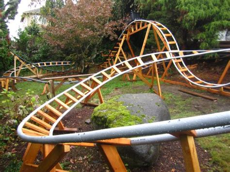 Backyard Roller Coaster Kit by Designing A Safe Backyard Roller Coaster With Paul Gregg