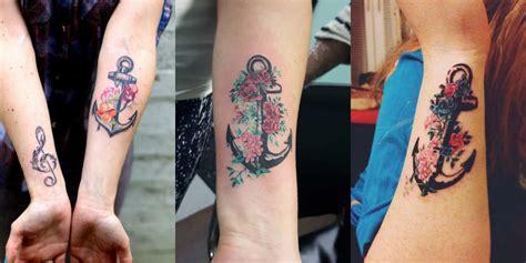 tattoo old school quadrifoglio 30 tatuaggi con l ancora e i fiori da guardare e da copiare