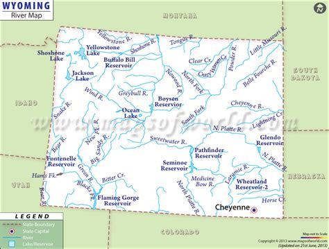 political map of wyoming how the states got their shapes page 2 us message
