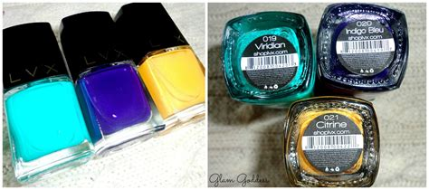 lvx nail polish luxury 7 toxin free cruelty free the glam goddess lvx nail lacquer review swatches