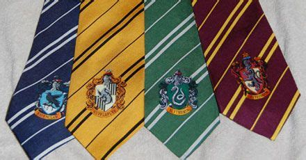 house ties harry potter