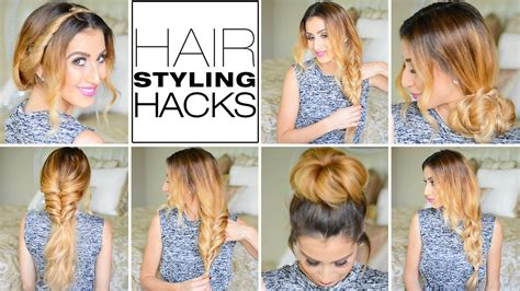 hairstyles every girl needs to know 7 genius hair styling hacks every girl needs to know