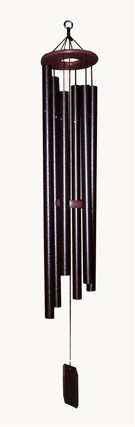 Handcrafted Wind Chimes - amish handcrafted harmonica 48 wind chime home