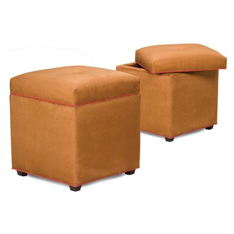 cheap ottoman with storage discount storage ottoman abby storage ottoman orange 402