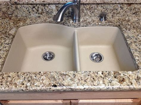Compare Kitchen Sinks 60 40 Granite Composite Kitchen Sink Compare To Blanco Bisque Ebay
