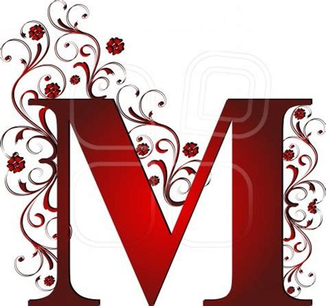 M Drawing Design by Capital Letter M Abstract Alphabet Alphabetic