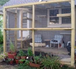 Cinder Block Bookshelf How To Build An Outdoor Cat Run Diy Projects For Everyone