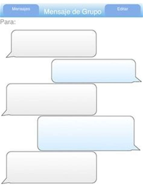 imessage template 1000 images about conversations on