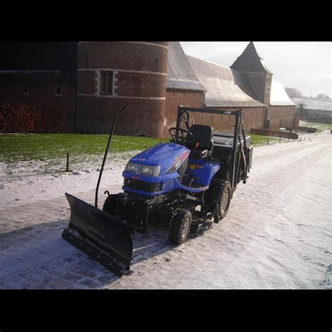siege pour micro tracteur kubota lame chasse neige 118 cm pour micro tracteurs kubota iseki