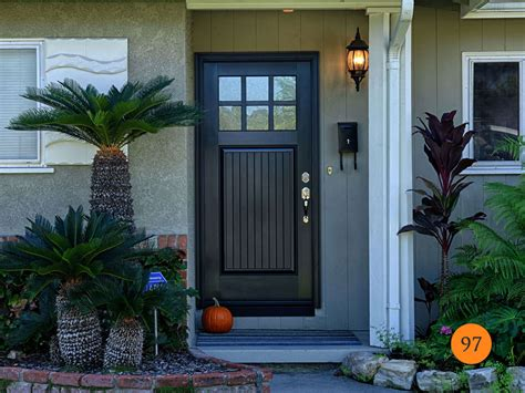 fiberglass entry door with glass craftsman style front doors todays entry doors
