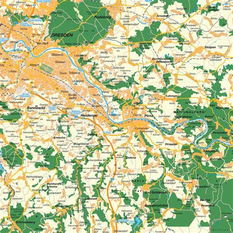 Home Design Map Free by Map Of Greater Dresden Freiberg Region Saxony Germany