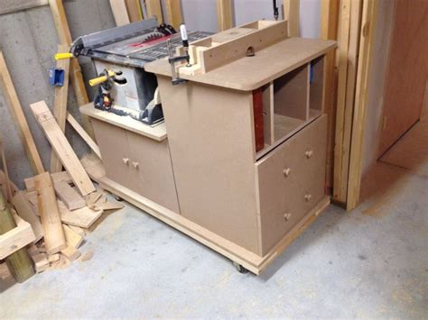 table saw and router table combo plans woodworking