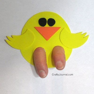 Puppets Chicky best 20 easter crafts for toddlers ideas on