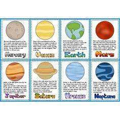 planet trading cards template use these templates to put your students faces in to use