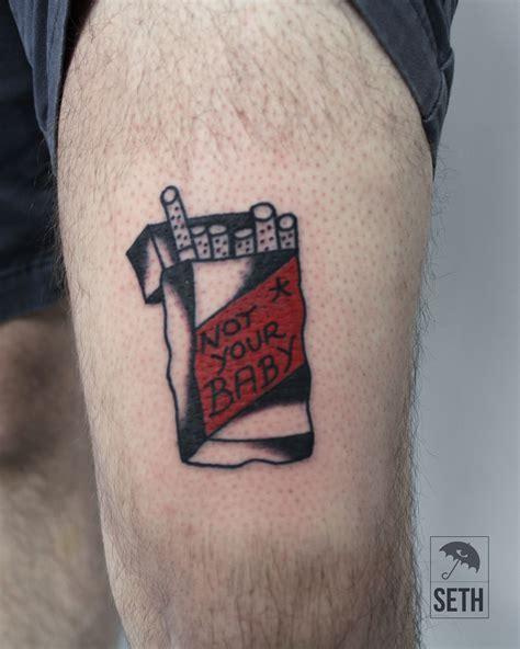 cigarette tattoo cig cig cigs cigarette cigarette tat
