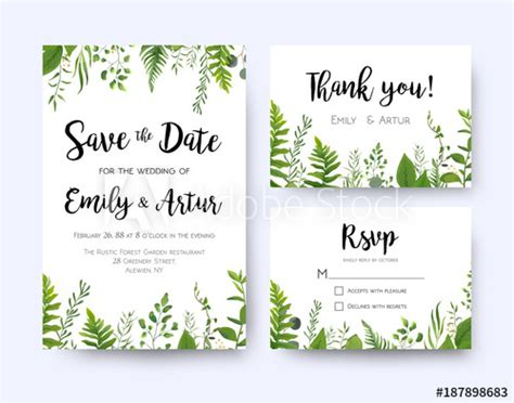 rsvp card template photoshop wedding invite invitation menu rsvp thank you card vector