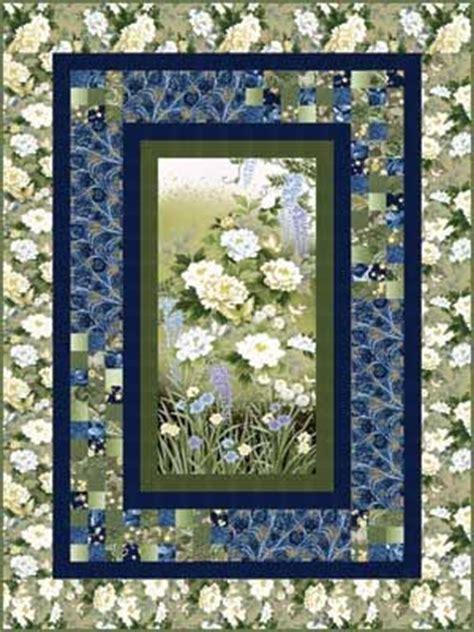 Quilt Patterns Using Panels by Garden Of Dreams Spotlight Pattern From Keepsake Quilting