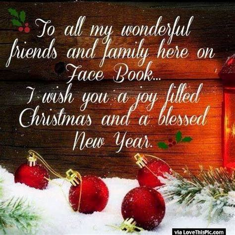 happy new year to all my family and friends merry and happy new year to all my