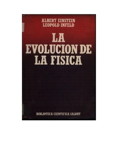 libro le crepuscule de la la evolucion de la fisica de albert einstein libro