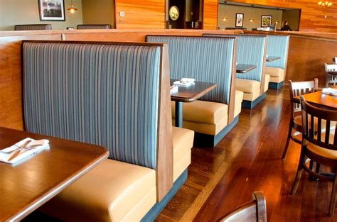 Banquette Restaurant Seating by Custom Restaurant Booths Upholstered Booths Banquettes Contract Commercial Booths By Plymold
