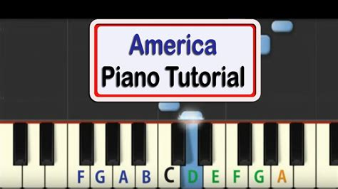 tutorial online piano easy piano tutorial for america with free pdf piano sheet