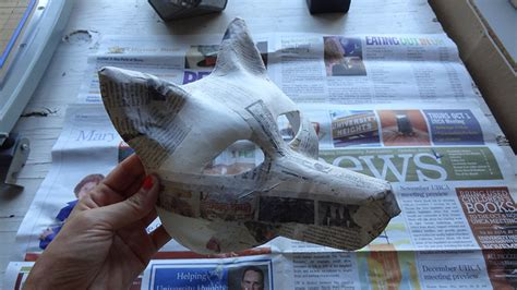 How To Make A Realistic Paper - harmony gong wolf mask