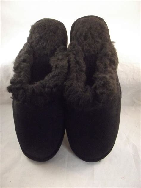 doggers slippers dawgs doggers faux fur fleece lined clogs shoes scuffs