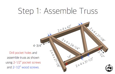 how to build a trestle table trestle dining table free diy plans rogue engineer