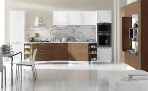 20 irresistible white kitchen designs with use of wood for