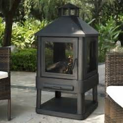wood burning fireplace outdoor patio heater backyard